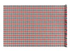 Tappeto rettangolare in polipropilene a motivi geometrici per esterni GARDEN LAYERS BLUE | Tappeto rettangolare - Garden Layers