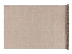 Tappeto a tinta unita rettangolare in polipropilene per esterni GARDEN LAYERS TERRACOTTA | Tappeto rettangolare - Garden Layers