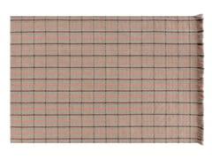 Tappeto rettangolare in polipropilene a motivi geometrici per esterni GARDEN LAYERS TERRACOTTA | Tappeto rettangolare - Garden Layers