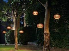 Lampada a sospensione per esterno a LED in fibra sinteticaGAROTA HANG - BOVER IL. LUMINACIÓ & MOBILIARIO
