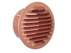 Griglia di ventilazione rotonda in alluminioGATR100R - FIRST CORPORATION