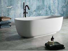 Vasca da bagno ovale in BluSolidGATSBY - BLUBLEU