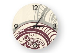 Orologio da parete in legno intarsiato GEAR COLORS | Orologio - DOLCEVITA ABSTRACT