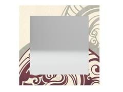 Specchio quadrato da parete con cornice GEAR COLORS   Specchio - DOLCEVITA ABSTRACT