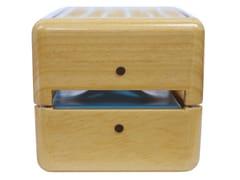 Refrigeratore in legno naturale a ghiaccio portatile GEIZEER NATURALE -
