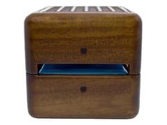 Refrigeratore in noce a ghiaccio portatile GEIZEER NOCE -