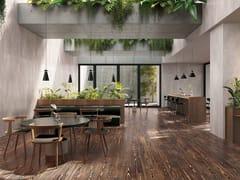 Pavimento/rivestimento in gres porcellanato effetto legnoGENDAI WOOD - CASALGRANDE PADANA