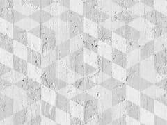 Mineheart, GEOMETRIC CUBES Carta da parati a striscia unica geometrica in carta non tessuta