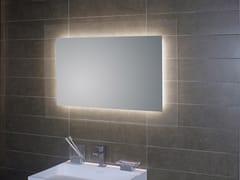 KOH-I-NOOR, GEOMETRIE 1 Specchio da parete con illuminazione integrata per bagno