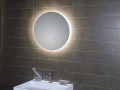 KOH-I-NOOR, GEOMETRIE 4 Specchio da parete con illuminazione integrata per bagno