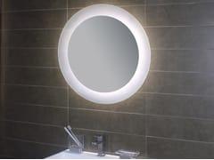 Specchio da parete con illuminazione integrata per bagno GEOMETRIE 5 - Geometrie