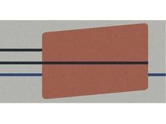 Antonio Lupi Design, GEOMETRIE VOLANTI - GV44/54 Tappeto per bagno rettangolare a motivi geometrici