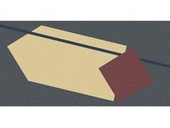 Tappeto per bagno rettangolare a motivi geometriciGEOMETRIE VOLANTI - GV47/57/48/58 - ANTONIO LUPI DESIGN®