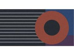 Antonio Lupi Design, GEOMETRIE VOLANTI - GV415/515 Tappeto per bagno rettangolare a motivi geometrici