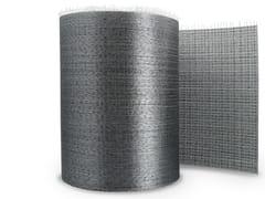 Tessuto unidirezionale in fibra di acciaio galvanizzatoGEOSTEEL G3300 - KERAKOLL