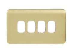 Placca di finituraGGBL04GWSB - SCHNEIDER ELECTRIC INDUSTRIES