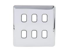 Placca di finitura in acciaio inoxGGBL06GBPC - SCHNEIDER ELECTRIC INDUSTRIES