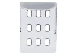 Placca di finitura in acciaio inoxGGBL09GBPC - SCHNEIDER ELECTRIC INDUSTRIES