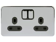 Presa elettrica multipla in acciaio inoxGGBL3020BPC - SCHNEIDER ELECTRIC INDUSTRIES