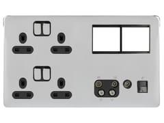 Presa elettrica multipla in acciaio inoxGGBL3020D4MPBPC - SCHNEIDER ELECTRIC INDUSTRIES