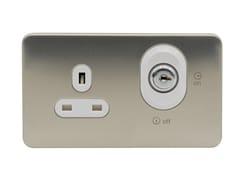 Presa elettrica multipla in acciaio inoxGGBL3060LWSS - SCHNEIDER ELECTRIC INDUSTRIES