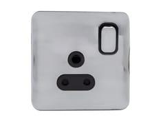 Presa elettrica singola in acciaio inoxGGBL3081BPC - SCHNEIDER ELECTRIC INDUSTRIES