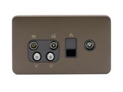 Presa elettrica multipla in acciaio inoxGGBL707445510BMBS - SCHNEIDER ELECTRIC INDUSTRIES