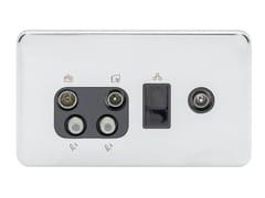 Presa elettrica multipla in acciaio inoxGGBL707445510BPCS - SCHNEIDER ELECTRIC INDUSTRIES