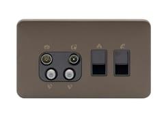 Presa elettrica multipla in acciaio inoxGGBL707445511BMBS - SCHNEIDER ELECTRIC INDUSTRIES