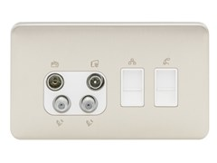 Presa elettrica multipla in acciaio inoxGGBL707445511WSSS - SCHNEIDER ELECTRIC INDUSTRIES