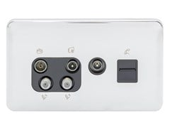 Presa elettrica multipla in acciaio inoxGGBL70746110BPCS - SCHNEIDER ELECTRIC INDUSTRIES