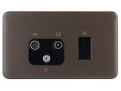 Presa elettrica multipla in acciaio inoxGGBL7081456BMBS - SCHNEIDER ELECTRIC INDUSTRIES