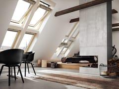 Finestra a bilico in legno GGL INTEGRA® SOLARE - Velux Integra®