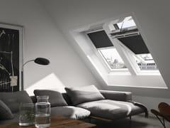 Finestra in legno con rivestimento in poliuretano GGU INTEGRA® SOLARE - Velux Integra®