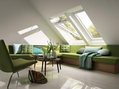 Finestra da tetto a bilico con apertura manuale GGU VELUX - Standard bassoemissiva