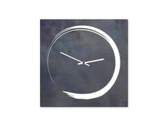 Orologio in lamiera da pareteS-ENSO FERRO NERO - DESIGNOBJECT.IT