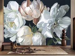 Carta da parati ecologica con motivi floreali senza PVCGILDA - ABSOLUTA
