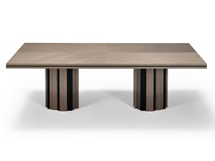 Tavolo rettangolare in legnoGINGER - TRIPLEX INTERIORES