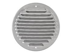 Griglia di ventilazione rotonda in acciaio inoxGINT125R - FIRST CORPORATION