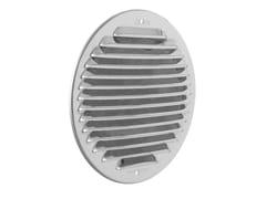 Griglia di ventilazione rotonda in acciaio inoxGINT160R - FIRST CORPORATION