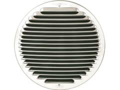 Griglia di ventilazione rotonda in acciaio inoxGINT200R - FIRST CORPORATION