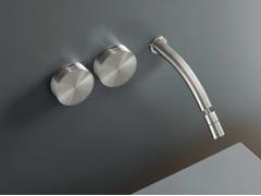 Gruppo di rubinetti a parete con bocca orientabile GIO 12 - GIOTTO