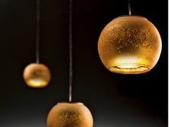 Lampada a sospensione a LED in vetro borosilicatoGIOVE - ALBUM ITALIA