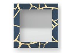 Specchio quadrato da parete con cornice GIRAFFE COLORS | Specchio - DOLCEVITA ANIMALIER