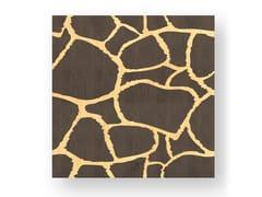 Quadro in legno intarsiato GIRAFFE WARM - DOLCEVITA ANIMALIER