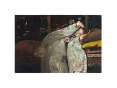 Stampa artistica in PET riciclatoGIRL IN WHITE KIMONO - MONDIART INTERNATIONAL