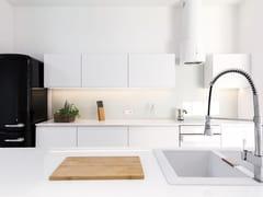 Top cucina in ceramica sinterizzata effetto marmoGLACIAR | Top cucina in ceramica sinterizzata - ITT CERAMIC