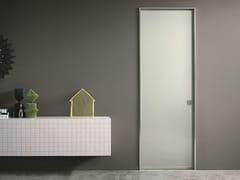 Porta scorrevole in alluminio e vetroL41 | Porta in alluminio e vetro - LUALDI
