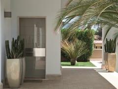 Porta d'ingresso blindata in vetroTEKNO | Porta d'ingresso in vetro - OIKOS VENEZIA