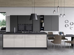 Cucina componibile con isolaGLASS | Cucina con isola - ARREDO 3